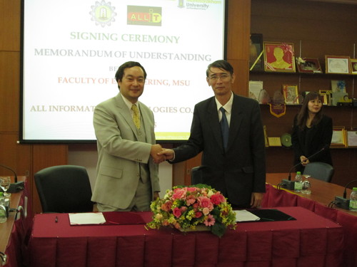 ALLIT Mahasarakham University MoU 2015